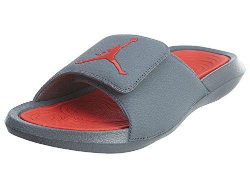 Nike Air Jordan Men's Hydro 6 Slides Cool Grey/Max Orange, - Jordans Air Max