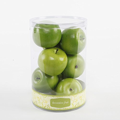 Ft1396 Artificial 8 Scented Apples in Cylinder Box-12 Boxes by Flora Bunda