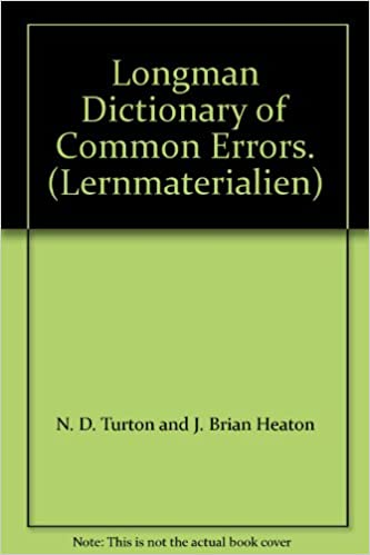 Download Longman Dictionary of Common Errors. (Lernmaterialien) PDF, azw (Kindle)