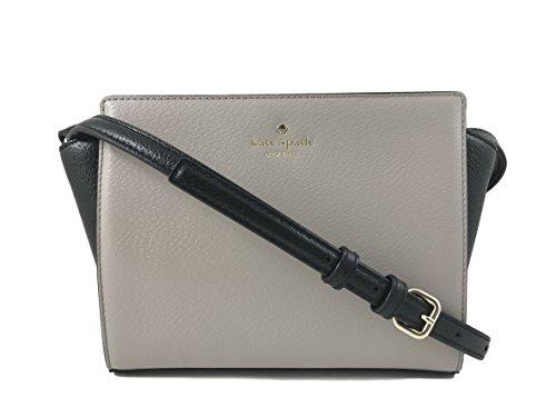 - Kate Spade Hayden Grand Street Colorblock Leather Crossbody Bag in Mousse Frosting/Black