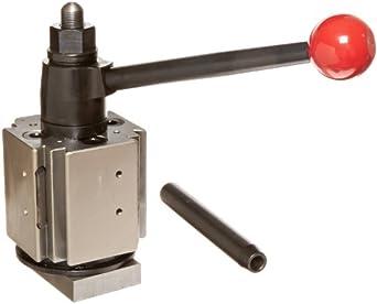 "Dorian Tool QITPN Alloy Steel Quadra Indexing Quick Change Tool Post, 16""-20"" Lathe Swing, 1.0"" - 1-1/4"" Capacity"