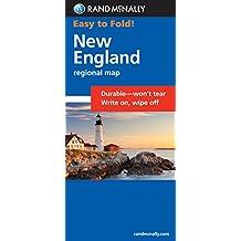 Rand McNally Easy to Fold! New England Regional Map
