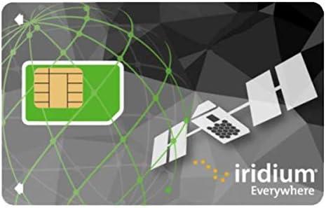 Iridium GO! Tarjeta SIM prepaga con 400 minutos de datos: Amazon ...