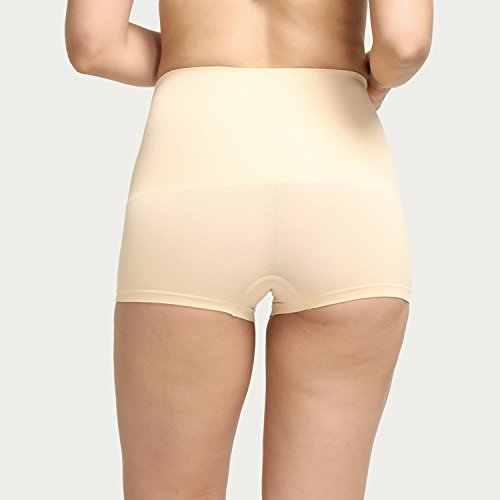 6782ea734d Zivame Everyday Shaping Cotton Midwaist Seamless Boyshort Panty-Skin   Amazon.in  Clothing   Accessories