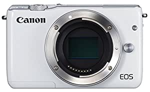 Canon mirrorless SLR camera EOS M10 body (white) EOSM10WH-BODY