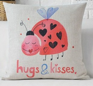 Valentines Day Love Bug Pillows And Covers Valentine S
