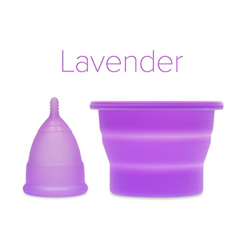 anigan-evacup-reusable-menstrual-cup-and-collapsible-sterilizing-cup-set-eco-friendly-large-lavender