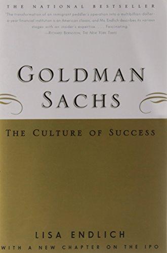 Sachs American Motors - Goldman Sachs : The Culture of Success