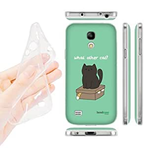Head Case Designs What Other Cat Ceiling Cat Vs Basement Cat Soft Gel Back Case Cover for Samsung Galaxy S4 mini I9190 Duos I9192 by icecream design