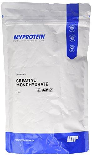 Myprotein Creatine Monohydrate Unflavoured, 1er Pack (1 x 1 kg)