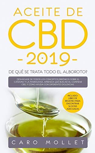 Libro : Aceite De Cbd 2019  - Mollet, Caro