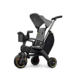 'Get ready to roll with the Liki Trike by Doona, The world's most compact folding trike.The S3 premium edition offers the ultimate Liki experience, including custom acccessories to complete the ride. Liki's functionality and innovati...