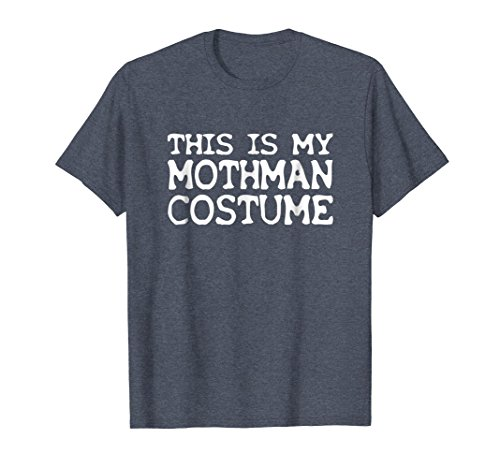 Mens This Is My Mothman Costume Funny Halloween T-Shirt 3XL Heather -