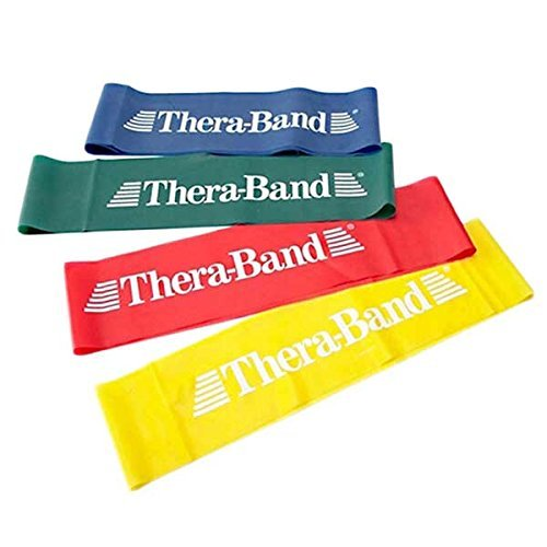 Theraband Heavy Loops Resistance Band  Green, 12 Inch