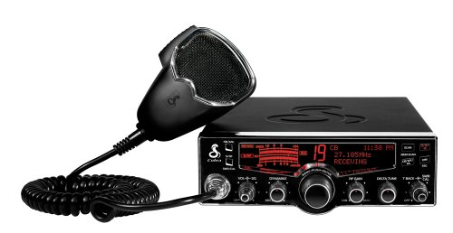 Cobra 29 LX 40-Channel CB Radio with Instant Access 10 NOAA Weather Stations and Selectable 4 Color Display, Outdoor Stuffs