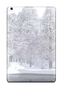 (jfRvhbM6469YOGqL)durable Protection Case Cover For Ipad Mini/mini 2(snow Covered Landscape)