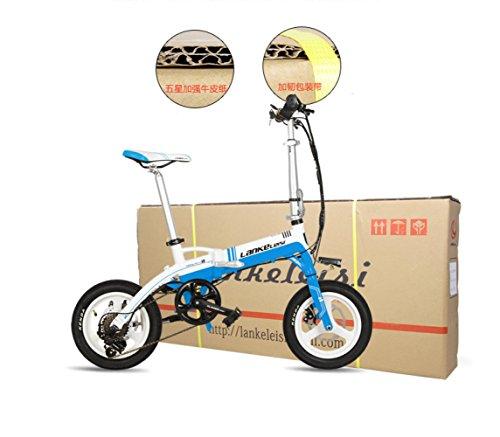 GTYW, Eléctrico, Plegable, Bicicleta, Montaña, Bicicleta, Ciclomotor Adulto, Bicicleta Eléctrica De Litio, 14 Pulgadas, Ultra Ligero, Mini, Coche Eléctrico, ...
