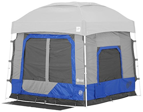 E-Z UP CC10ALRB Cube 5.4 popup Outdoor Camping Tent, Royal Blue