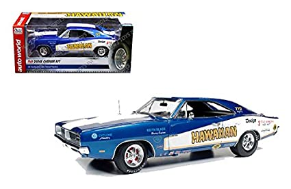 Amazon Com Limited Edition 1 18 Racing Dreams 1969 Dodge Charger R