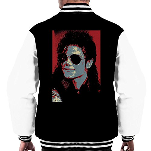 Michael Jackson Portrait 1990 Classic Aviator Sunglasses Men's Varsity ()