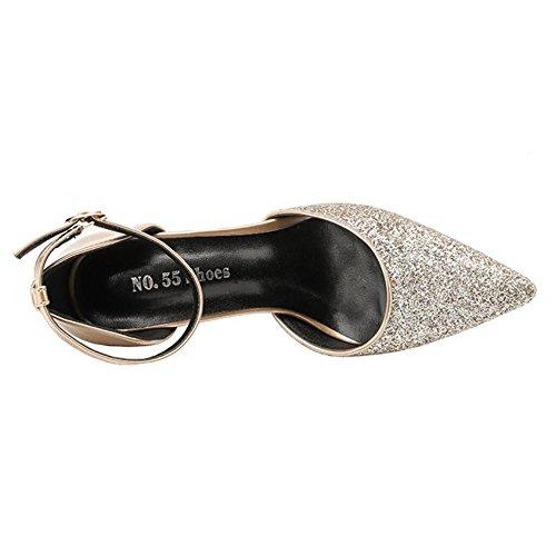 Talons Sexy Aiguilles Plateformes De Sandales Motif Party Escarpins Court Conseils Chaussures Discothques Mode Noir Pour Holiday YUwEqn41