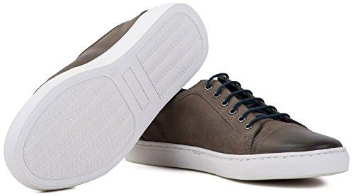 Smith Mens Rimmington Plimsoll Black Goodwin Shoe Grey aq4dapw