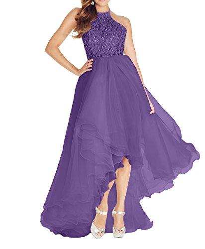 lo Prizess Linie Damen Lang Charmant Promkleider Partykleider Hi Abschlussballkleider Violett Tuell Abendkleider A Ballkleider q4E4ZBY