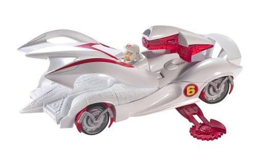 Mattel Speed Racer Deluxe Battle Vehicle Mach 6 ()