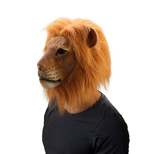 WloveTravel Halloween Lion Head Mask Costume Party Cosplay Decorations