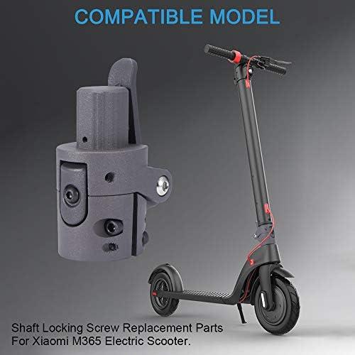 Winbang Varilla Plegable para Scooter Scooter el/éctrico Base de Poste Plegable Accesorios de Gancho Plegable Piezas de Repuesto para Xiaomi M365 Kickscooter el/éctrico