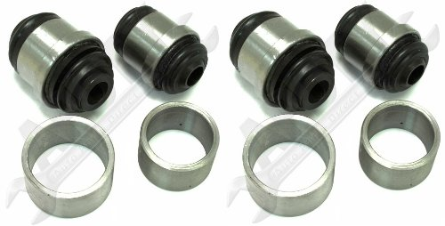 APDTY 016615 Rear Suspension Upper & Lower, Left & Right Knuckle / Spindle / Suspension Bushing Set With Installation Tool For 1993-2002 Cadillac (Includes All 4 Bushings For A Complete Repair; GM 18026759, 18026760, 18026757, 18026758, 18060684, 18060685