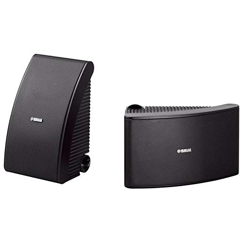 Yamaha NS-AW592BL 150 Watt 6.5-Inch Cone All-Weather Speakers (1 Pair, Black)