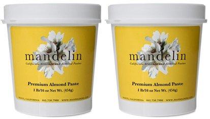 Mandelin Premium Almond Paste (2 lb) by Mandelin (Image #3)