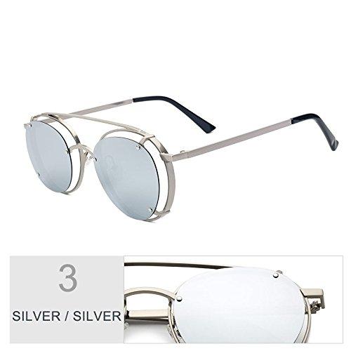 Polarizados Anteojos Plata Suspensión Sol De Azul Para Unisex Silver TIANLIANG04 Lentes Uv400 Silver Gafas Sol De De wtHx4XqC