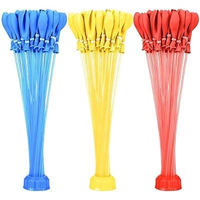 ZURU Self Sealing Water Balloons 100 pcs Assorted Colors: Toys & Games