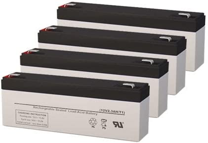 Clary Corporation 1500 VA UPS Replacement Batteries Set of 4