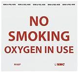 NMC M48P No Smoking Sign, Legend