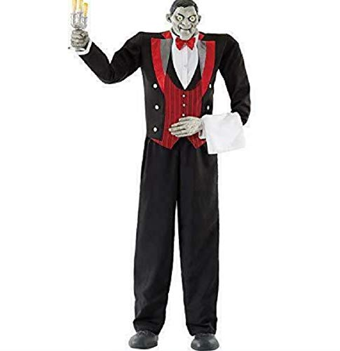 Halloween -Animated Butler of Macabre Manor 6ft 11