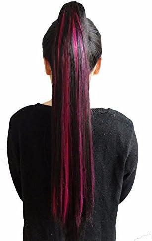 XIAOBAI Pinza de cola de caballo clip de garra de pelo largo ...