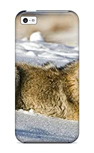 New Animal Wolf Tpu Case Cover, Anti-scratch ZippyDoritEduard Phone Case For Iphone 5c