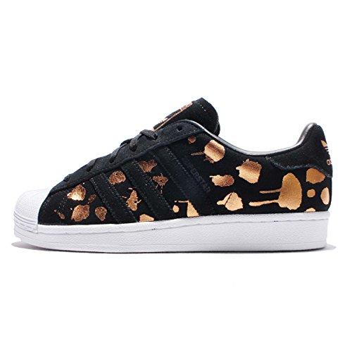 Adidas Originals Superstar W-s76152 Cblack / Cblack / Coppmt