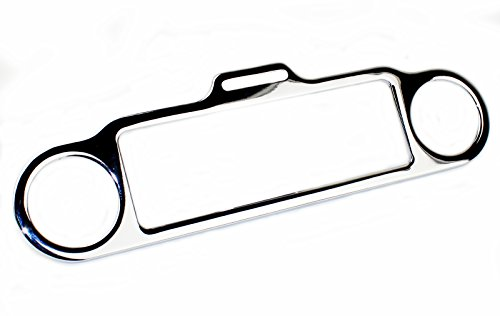 chrome stereo accent trim ring cover for harley davidson