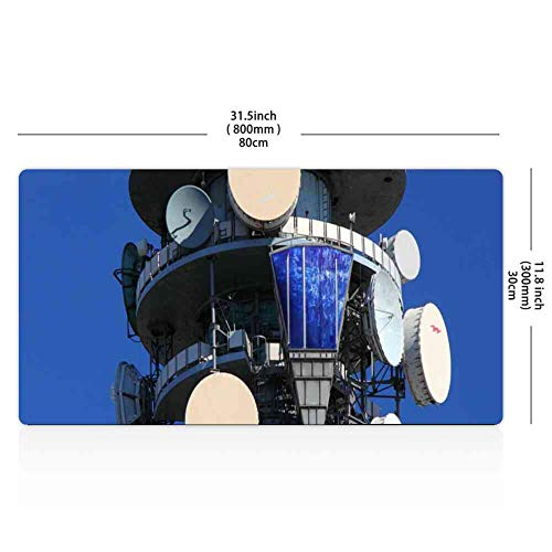 Mouse Pad Rectangle Mouse Pad Antenna Cell Cellular Communication Connection #21457 Series 260mm210mm3mm