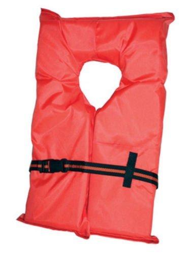 Type II Orange Life Jacket Vest PFD - Adult Universal - Coas