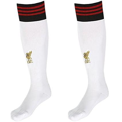 adidas FC Liverpool Away - Calcetines para Deporte, Color Blanco, Negro y Rojo Weiß