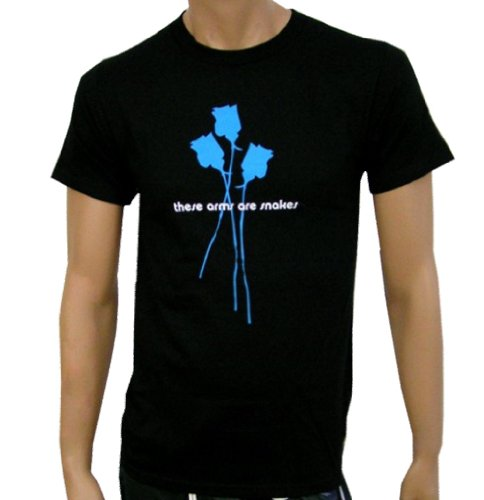 THESE ARMS ARE SNAKES - Blue Roses - Black (Fear Punk Shirt)
