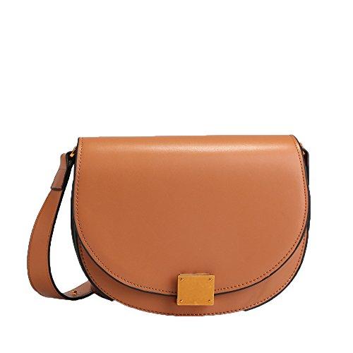 Cross Petit Sac Sac à Décontracté De Body Bandoulière à Shopping Main Bag Dames Brown Sacs Carré 7OzIz