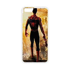 Spider Man Movie iPhone 6 Plus 5.5 Inch Cell Phone Case White Personalized Phone Case LK5S4IL74