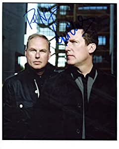 Foto firmada de Orchestral manoeuvres in the dark, 25,4 x 20,3 cm