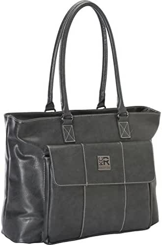 Kenneth Cole Reaction Womens Business Computer Tote for Computer Up To 16 - Charcoal
